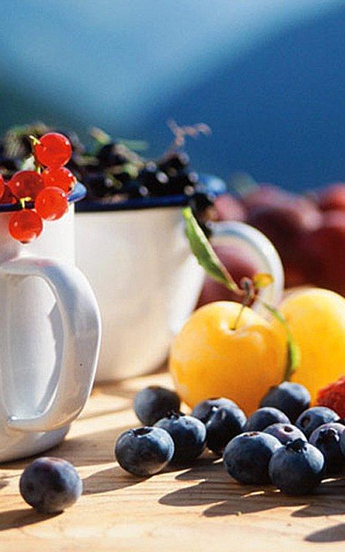 Frühstück und Hofprodukte